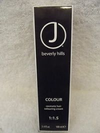 J BEVERLY HILLS Professional Cosmetic Hair Colour Cream ...