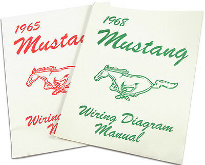 Mustang Electrical Wiring Diagram Manual 1969 69 Coupe Conv Mach 1