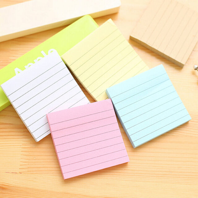 Sticky Notes Notebook Memo Pad Bookmark Paper Sticker Notepad - stickey notes