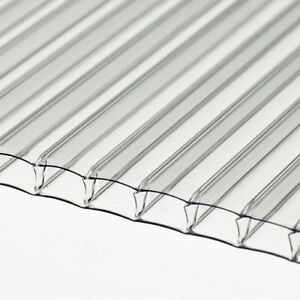 4mm Clear Polycarbonate Sheet 1500mm X 610mm Greenhouse Replacement Stock Sale Ebay - Polycarbonate Sheet