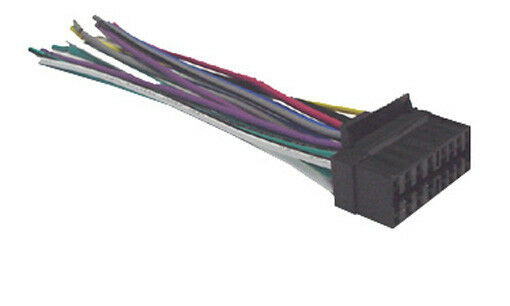 Sony 16 Pin Wiring Harness Electrical Circuit Electrical Wiring
