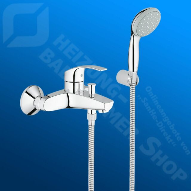 Brauseset Grohe Eurosmart Single Lever Mixer For Bath And Shower Faucet