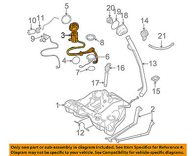 VOLVO OEM 05-07 V70-Fuel Pump 30761745 eBay