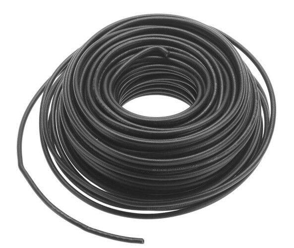 Atlas 315 HO and N Scale Layout Wire 20 Gauge 50 Black Stranded