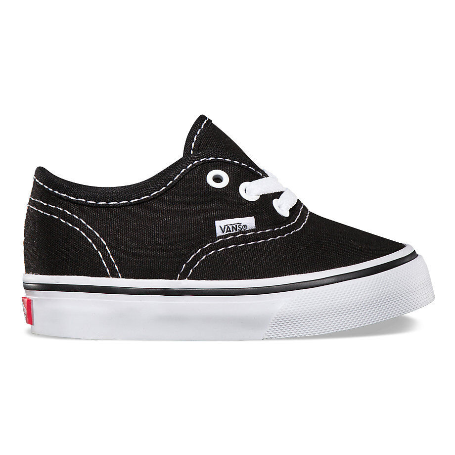 Newborn Shoes Vans Infant Toddler Vans Authentic Black White Original Vn000ed9blk 4