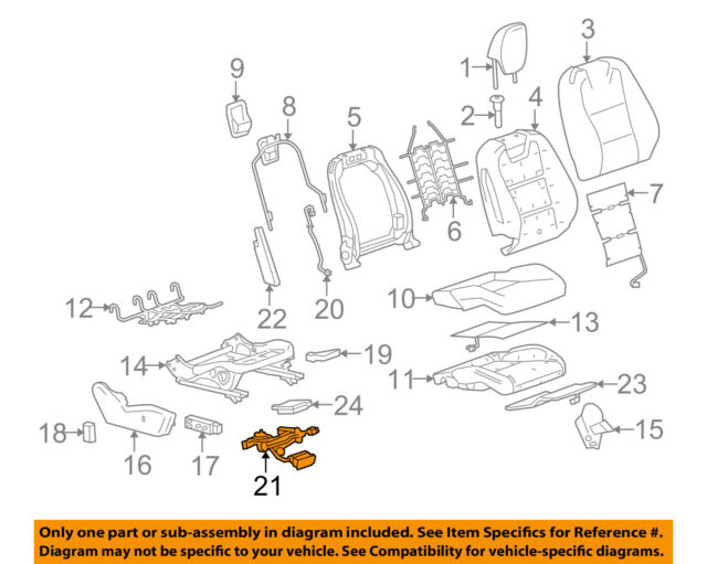 Genuine GM OEM Power Seat Wire Wiring Harness #22752485 for sale