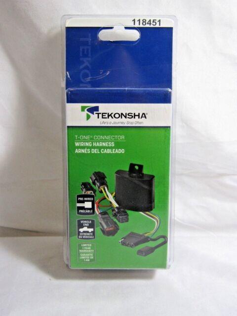 TEKONSHA 118451 T-One 4-Way T-Connector WIRING HARNESS GMC Acadia 07