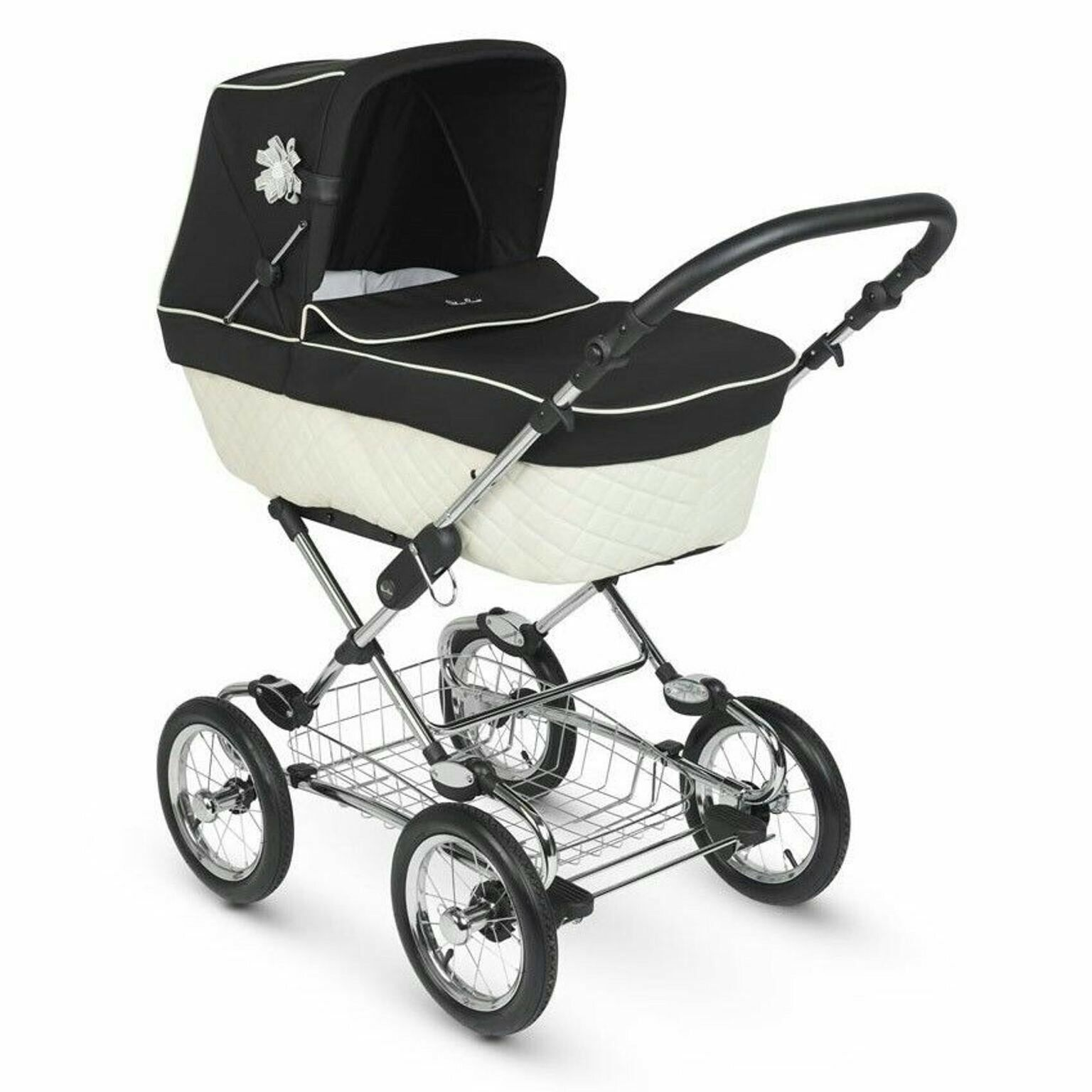 Silver Cross Elegance Buggy Board Silver Cross Sleepover Elegance Cream Black Pushchairs Single Seat Stroller