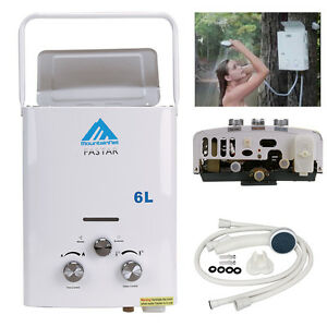 6l Propane Gas Lpg Tankless Hot Water Heater Boiler