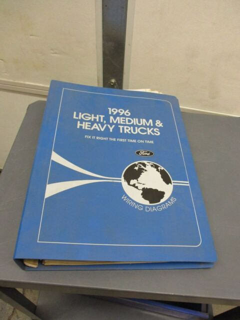 1996 Ford Medium  Heavy Duty Truck Wiring Diagrams Shop Manual fcs