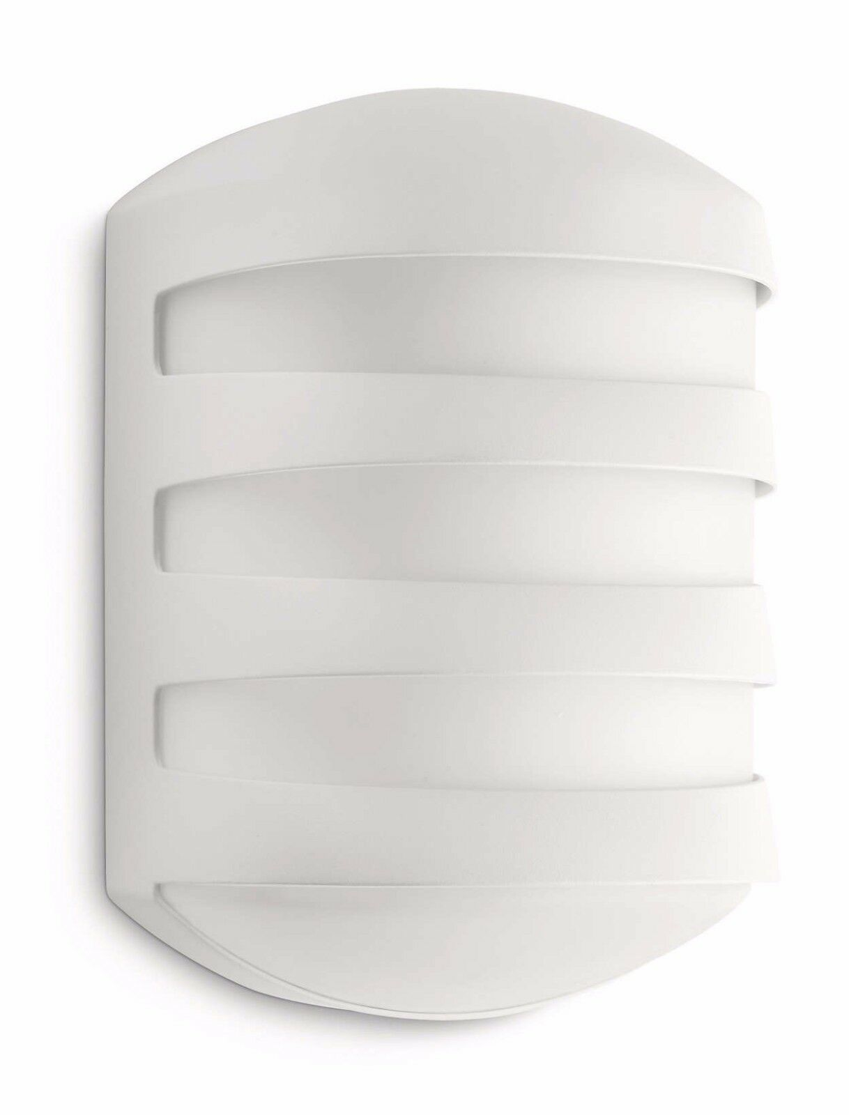 Philips Ecomoods Philips Ecomoods Foliage Outdoor Wall Light White Includes 1 X 20 Watts E27 Bulb