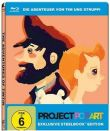 Blu-ray * Die Abenteuer von Tim und Struppi Steelbook Project Pop Art (&) * NEU