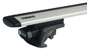 Thule 757 Foot Pack Thule 961 Roof Bars Wing Bars Ebay