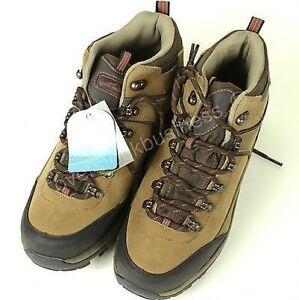 Eddie Bauer Mens Waterproof Leather Hiking Boots M3039