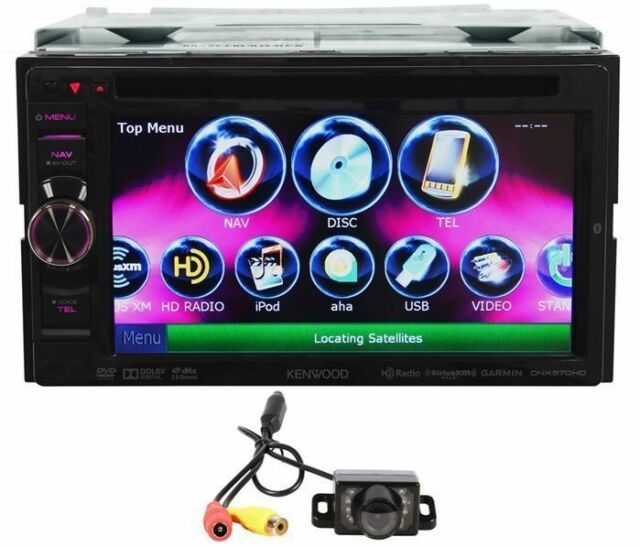 Kenwood DNX570HD 61 inch Car DVD Player for sale online eBay
