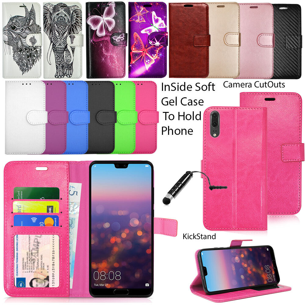 Zanasta For Huawei P20 P30 P30 Lite 20x Mate 20 Pro Phone Case Wallet Cover Leather Flip