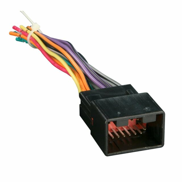 Metra Aftermarket Radio Wiring Harness for 1998-2008 Ford Lincoln