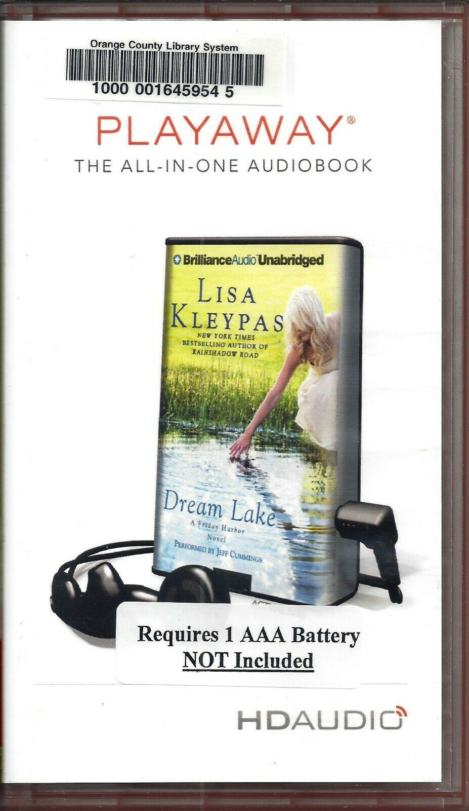 Libros De Lisa Kleypas Dream Lake By Lisa Kleypas Read By Jeff Cummings Unabridged Playaway Audio Book