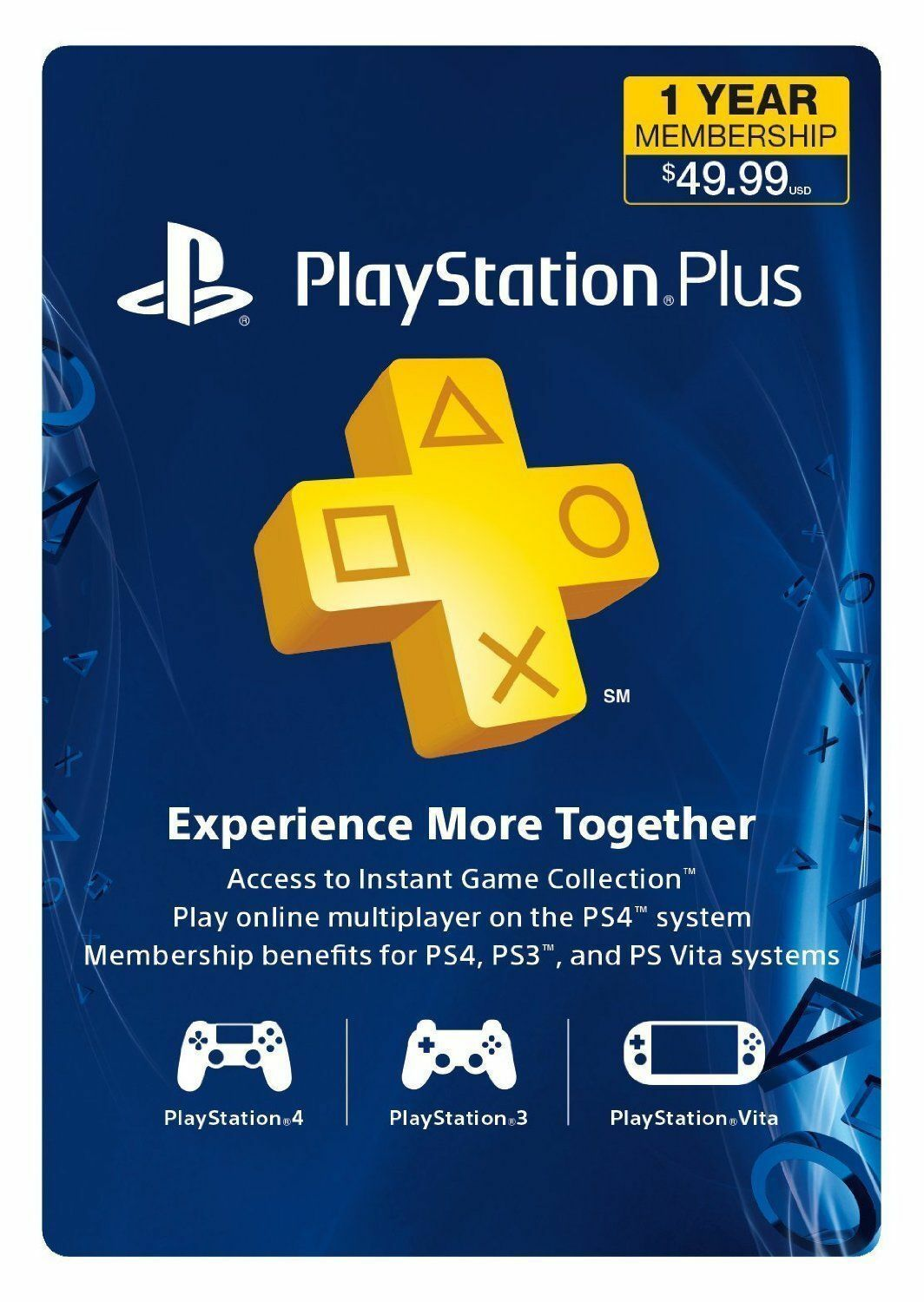 Ps Store Karte Sony Playstation Plus 1 Year Subscription Membership Card 3000133