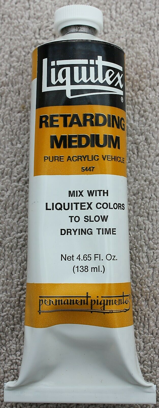 Nos Liquitex Retarding Medium Pure Acrylic Vehicle Large Tube 4 65 Fl Oz No 5447 For Sale Online Ebay