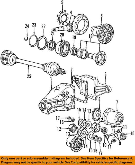 BMW E36 318 TI Differential Cover 33111214001 for sale online eBay