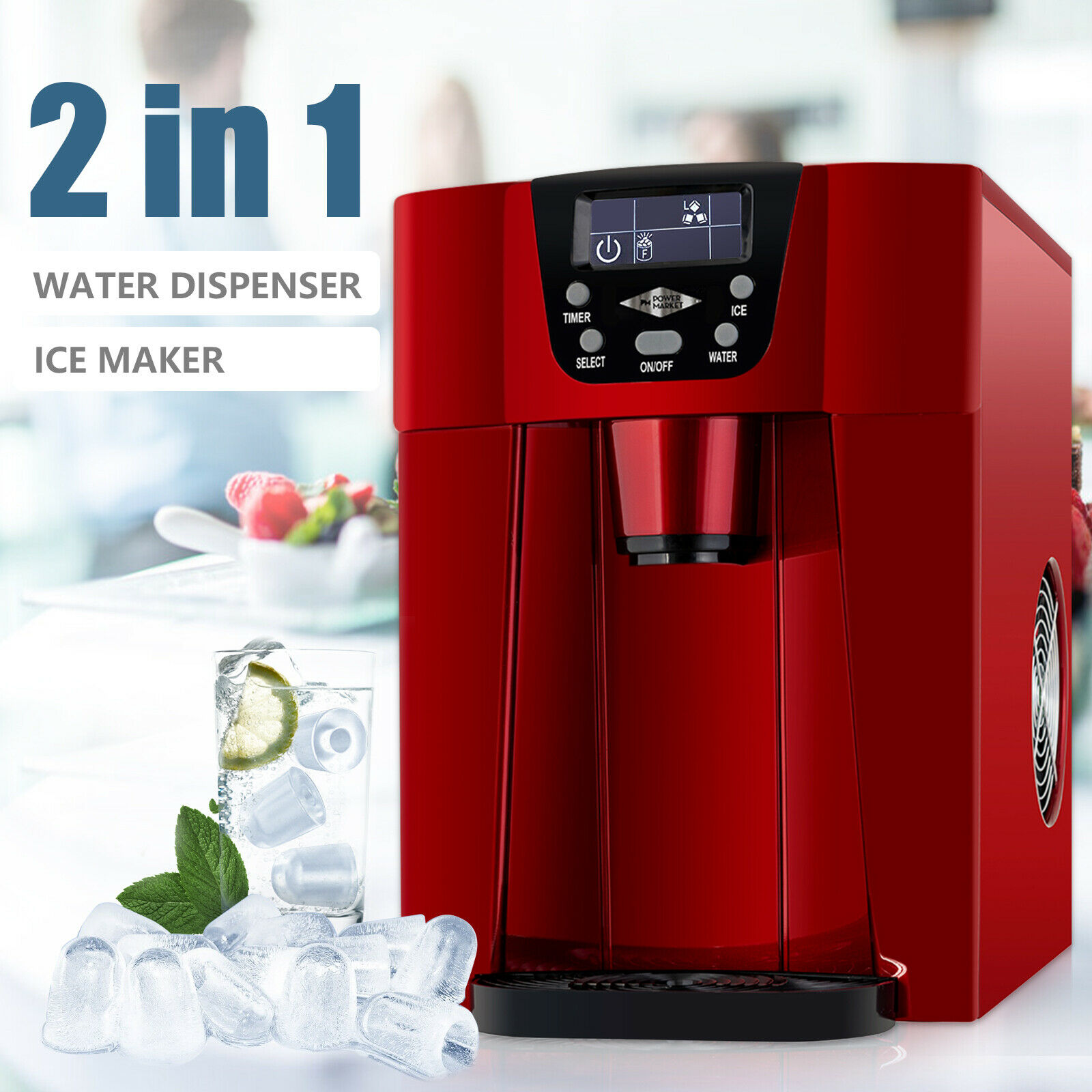 Electric Portable Ice Maker Compact Countertop Ice Cube Machine 26lbs Day For Sale Online Ebay