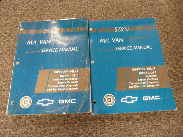 1988 Chevy Astro Minivan Van Shop Service Repair Manual Book CS CL