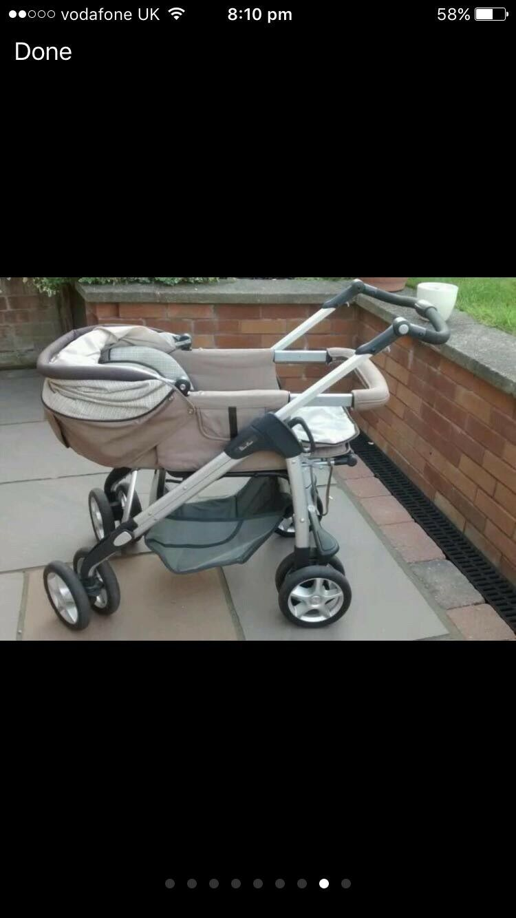 Silver Cross Pushchairs On Ebay Silver Cross Linear Freeway Pram Pushchair