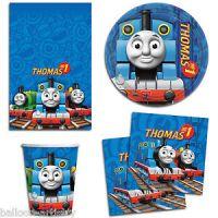 Thomas The Tank Engine Party Birthday FRIENDS Plates ...