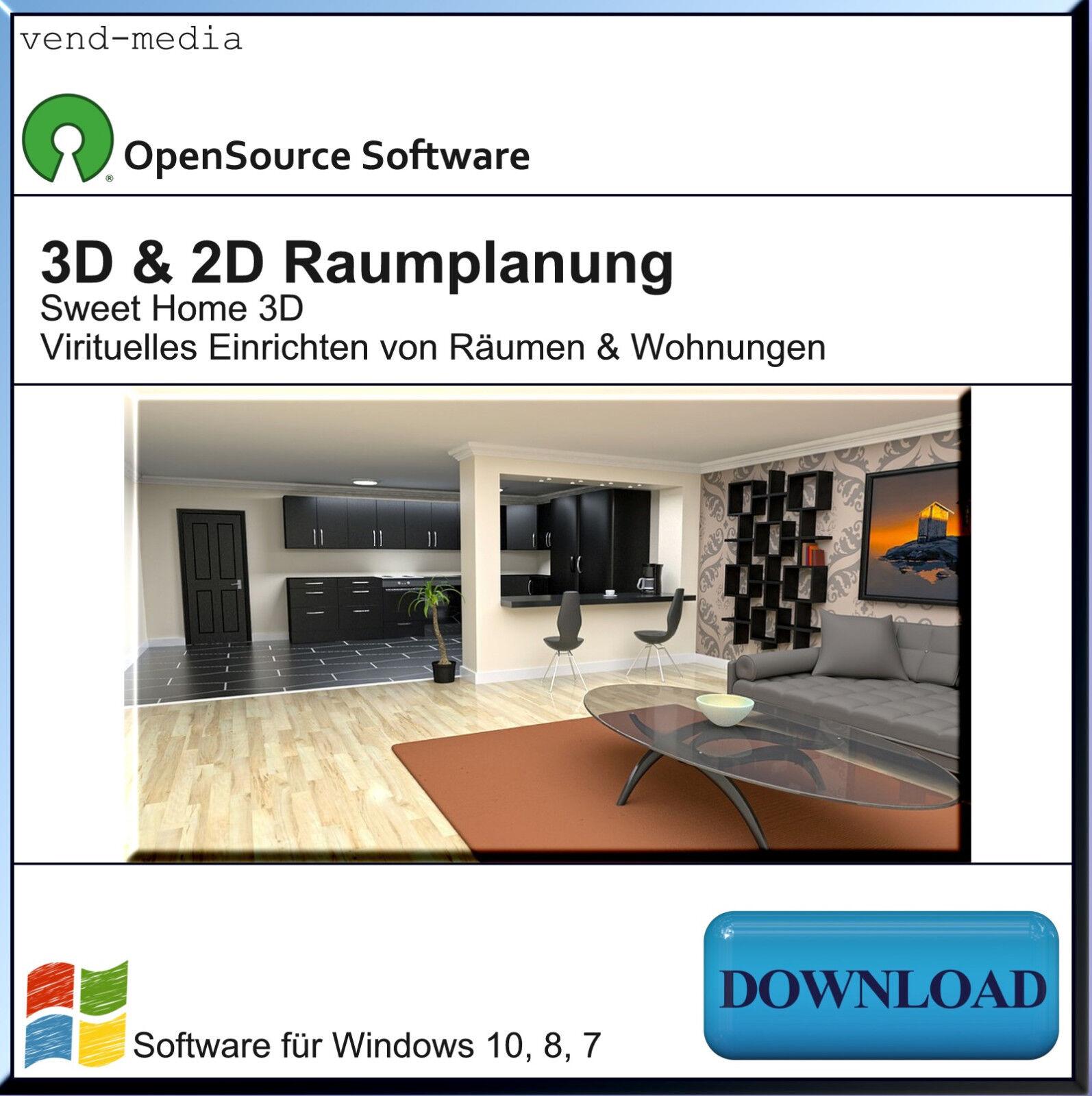 Raumgestaltung planungsprogramm 3d planer freeware chip for Software raumgestaltung kostenlos
