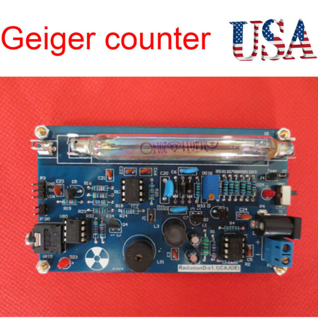 Semiconductor Free Geiger Counter Schematic - GO Wiring Diagram