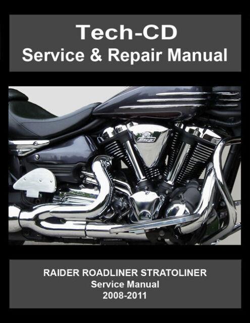 Yamaha Roadliner Stratoliner Raider Service Repair Manual S Midnight