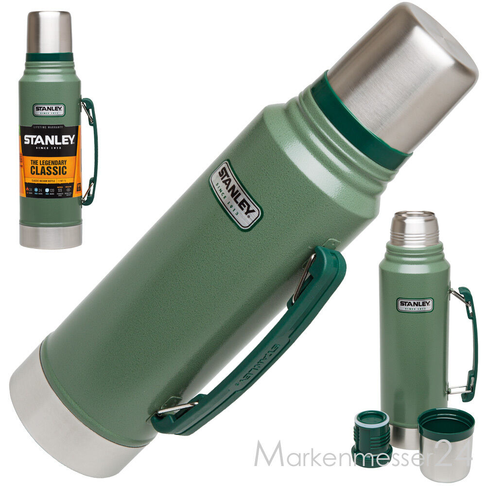 Thermoskanne 1l Stanley 1l Army Thermoskanne Thermosflasche Teekanne Kaffekanne Gn