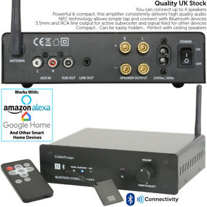 170W Premium Bluetooth Amplifier –Wireless Home Audio Loud Speaker Hi-Fi Amp Kit 5055538131547 ...