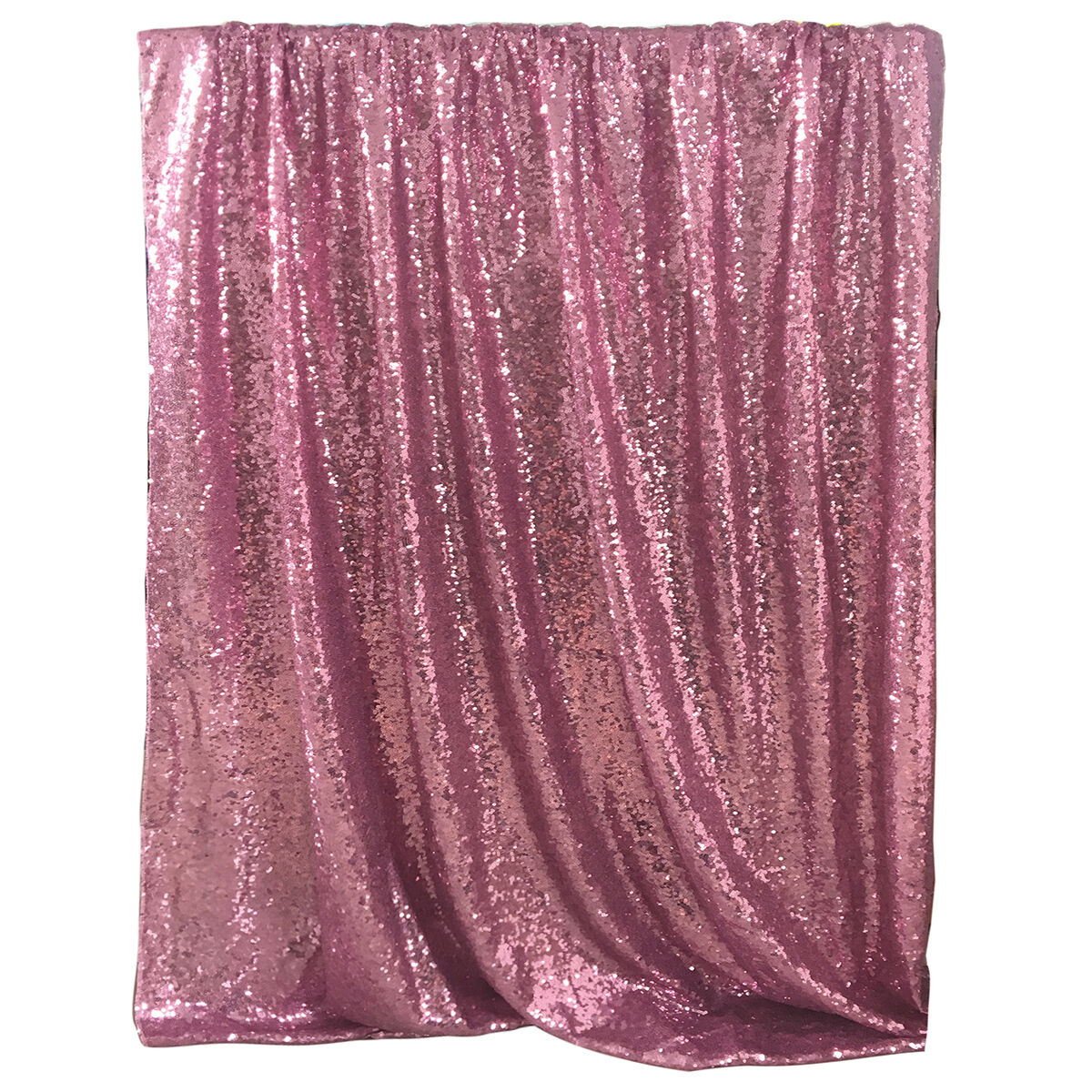 Pink Sequin Curtains 4ftx6ft Sequin Curtain Wedding Photobooth Backdrop Party Photography Background Pink