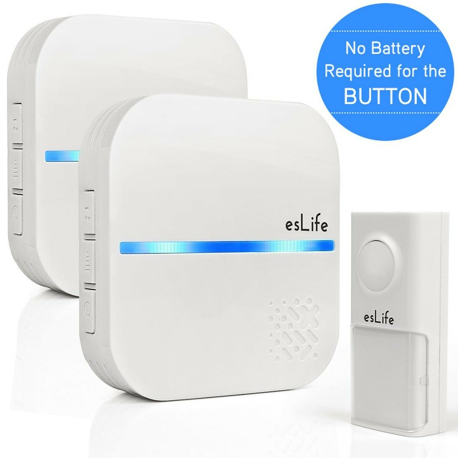 Led Unterbauleuchte Ip54 No Required Wireless Doorbell Waterproof Plug In Door Bell