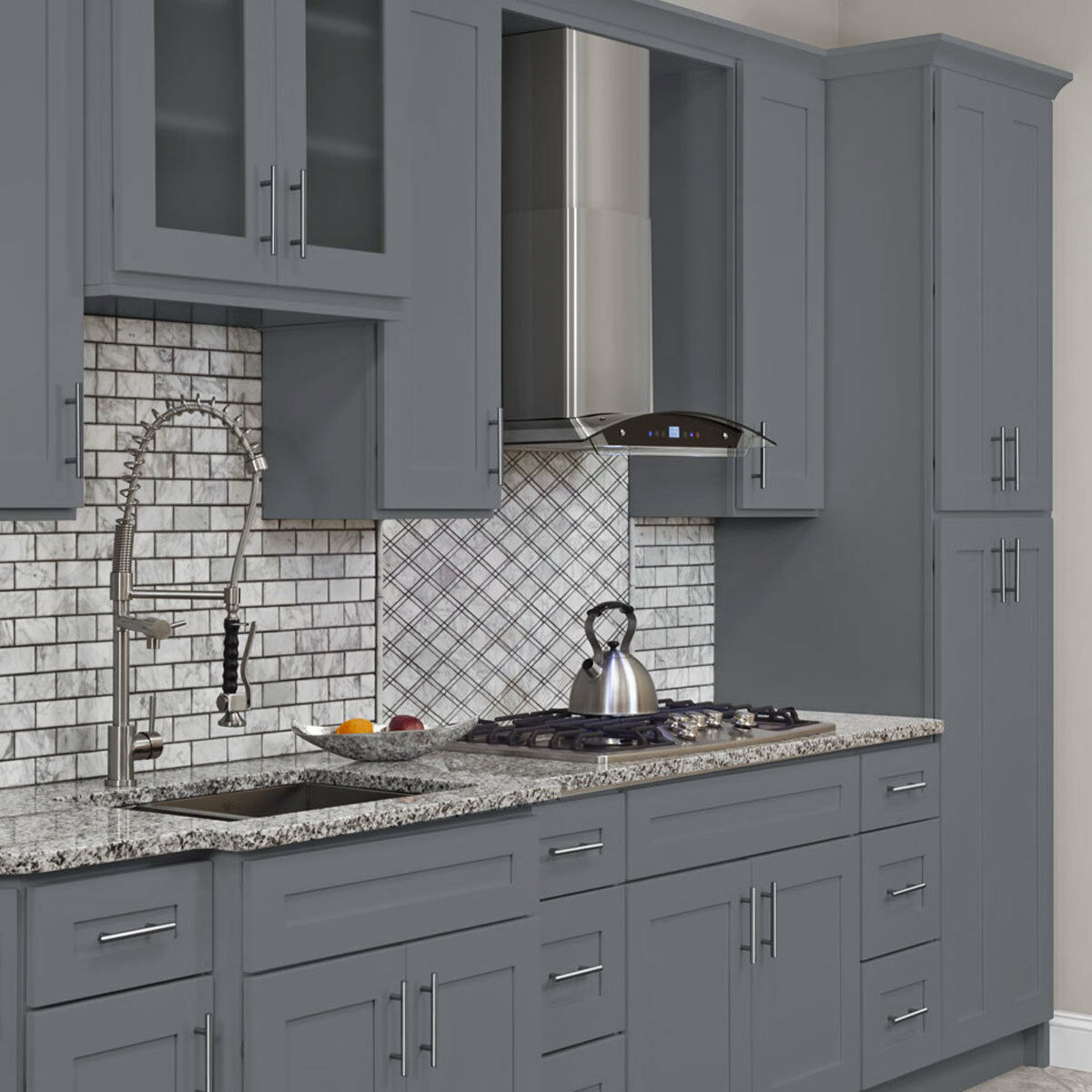 Sale Kitchen Cabinets 10x10 All Wood Kitchen Cabinets Colonial Gray Fully Upgraded Group Sale