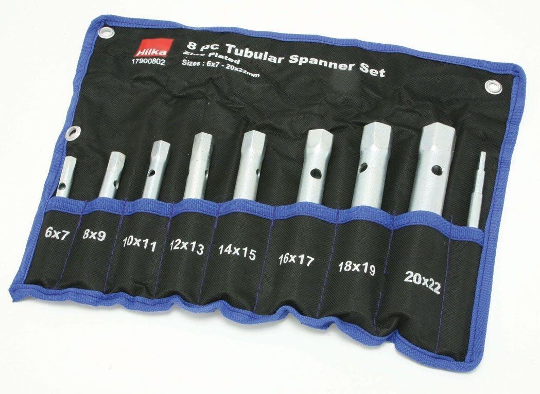 Tubular Box Spanner Set 6mm 22mm Spark Plug Wrench 8 Pc