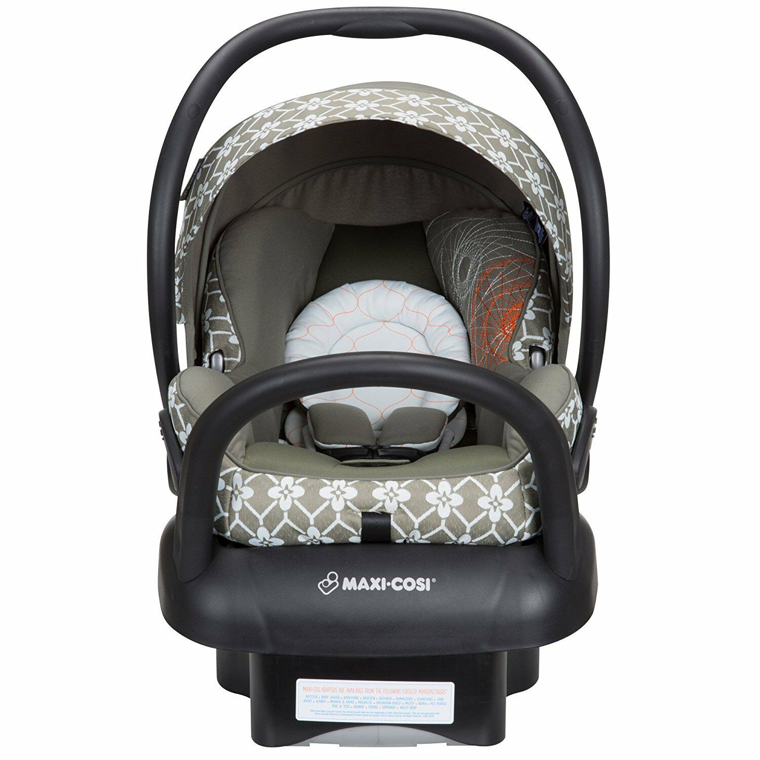 Maxi-cosi Adorra Travel System - Graphic Flower Maxi Cosi Adorra Travel System Graphic Flower Stroller Mico Max 30 Car Seat