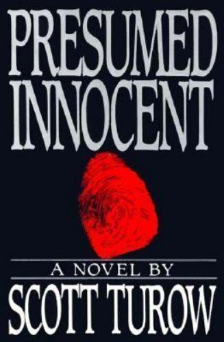 Presumed Innocent by Scott Turow (1987, Hardcover) eBay - Presumed Innocent Author