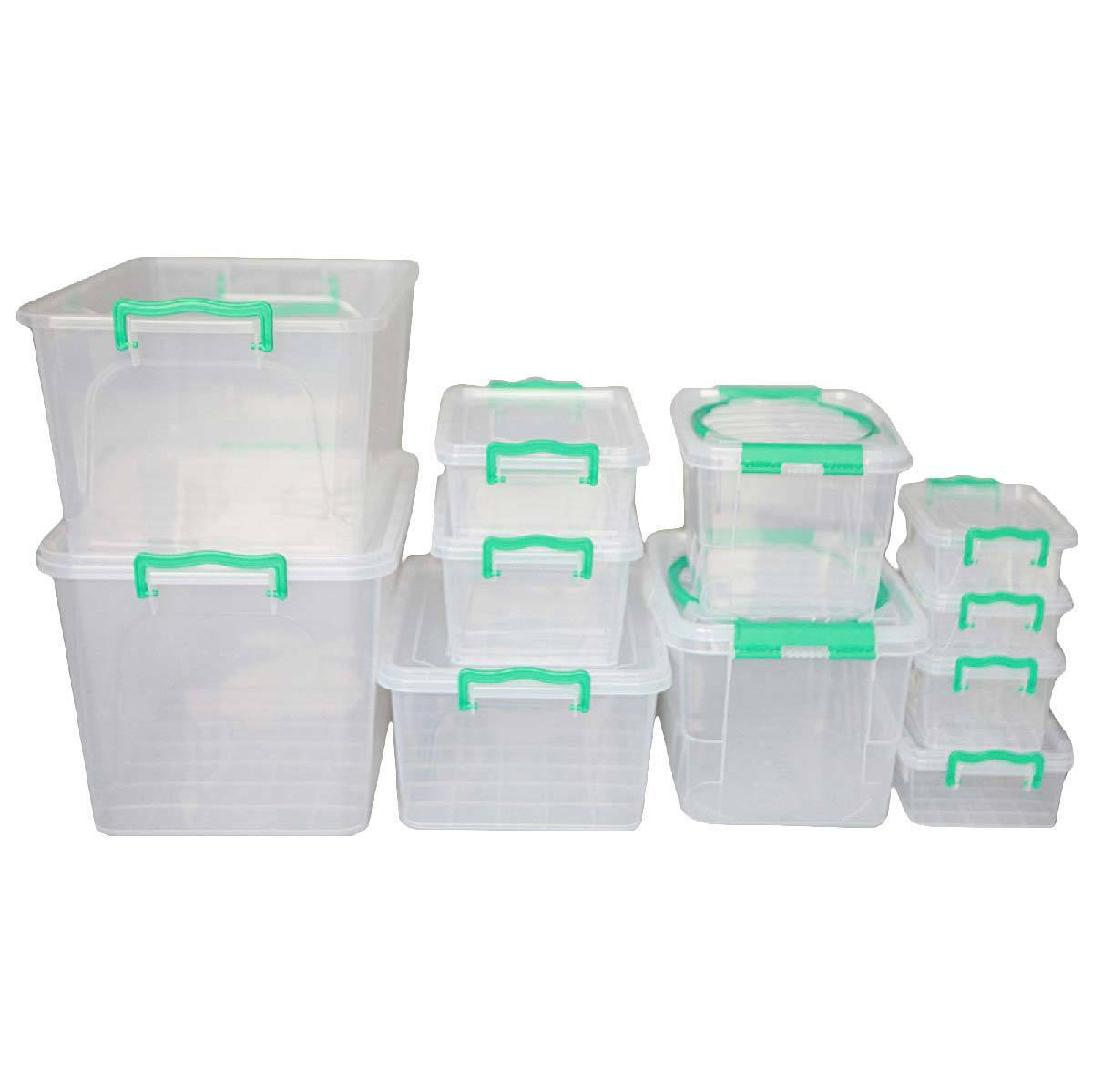 Durchsichtige Box Storage Box Transparent Box Plastic Box Klappbox Plastic 1 30l Ebay