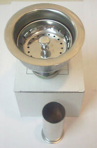 Professional Kitchen Sink Strainer With Basket And