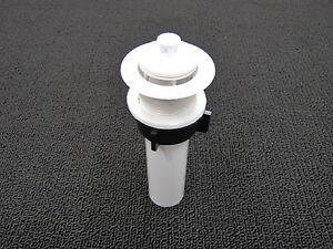 Mobile Home Rv Marine Parts Bathroom Lav Sink Drain White