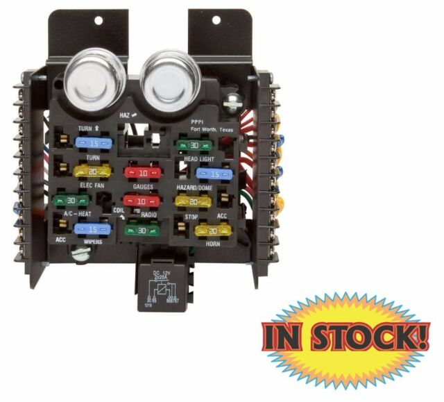 Painless Performance Universal Style Pre-wired 14 Circuit Fuse Block