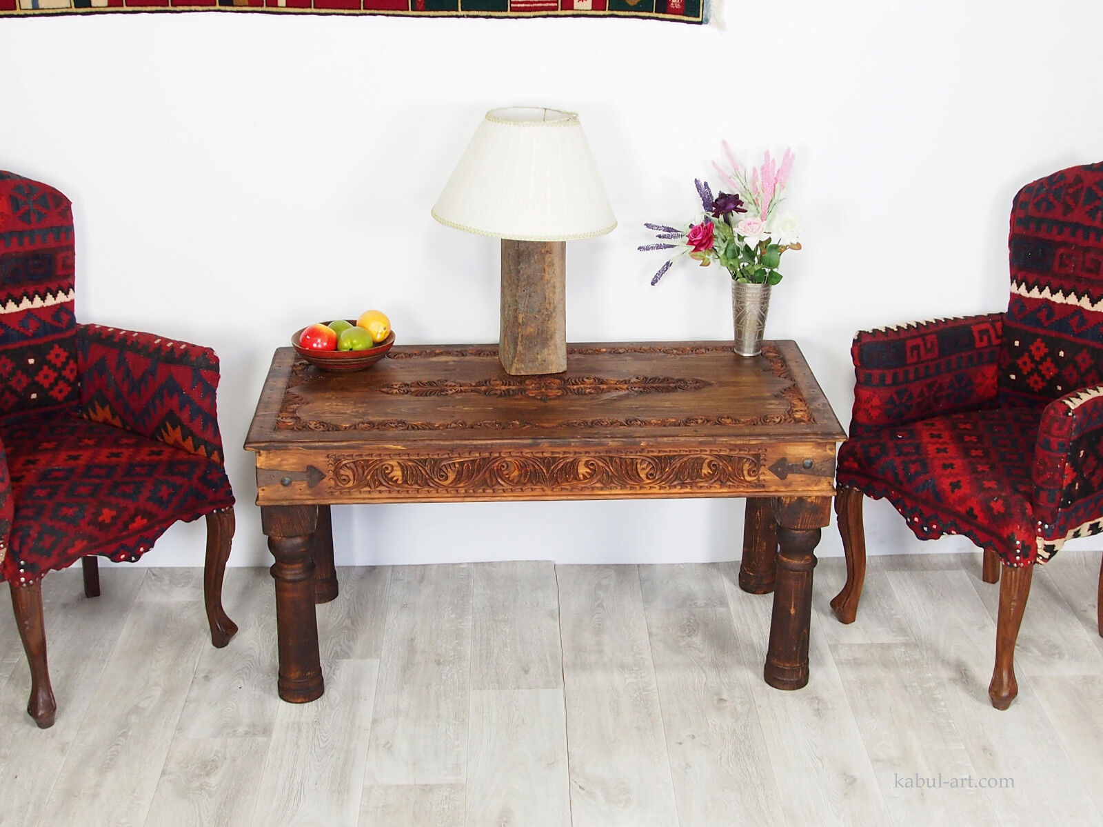 Table Basse Console 120x60 Cm Table D Appoint Orient Thé Table Table Basse Console