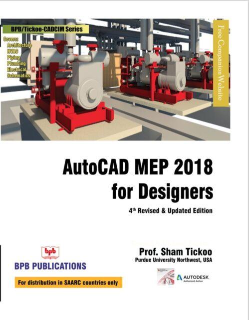 AutoCAD Mep 2018 for Designers by Prof Sham Ticko Purdue Univ (2017