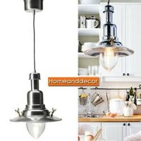 New Ikea OTTAVA Pendant Ceiling Lamp Light Aluminum with ...
