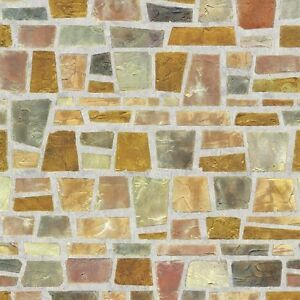 Fragment Stone Effect Self Adhesive Wallpaper Home Depot PVC Peel Stick Paper | eBay