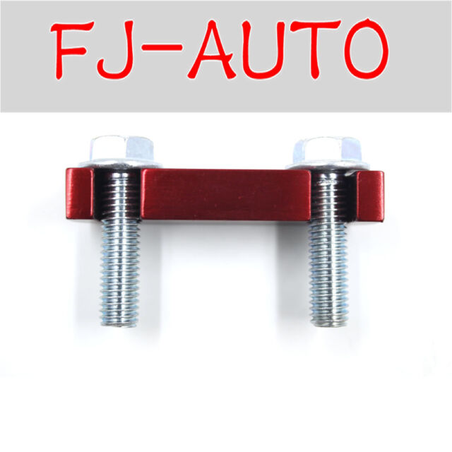 Buy Red Duramax Fuel Filter Head Housing Spacer and 2pcs Bolts 2001