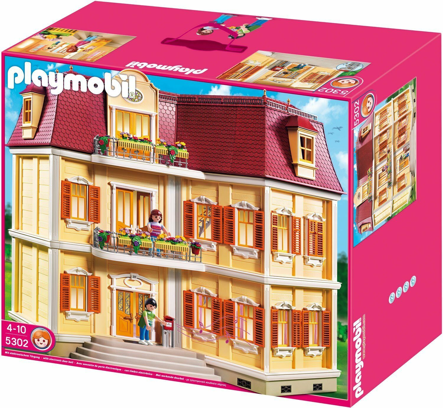 Dollhouse Playmobil Playmobil 5302 Large Grand Mansion Dollhouse